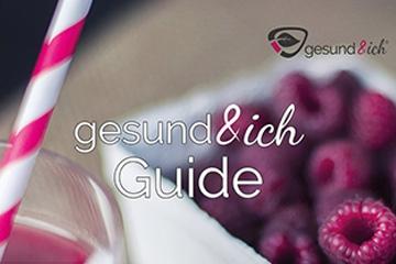 Titelseite Guide gesund&ich