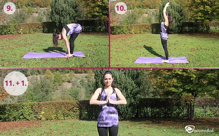 Yoga-Übungen sind auch für Anfänger geeignet.