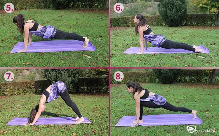 Yoga-Übungen, Asanas genannt, sind Übungen für den Körper.